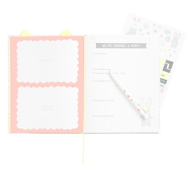 new baby journal