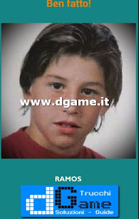Soluzioni Guess the child footballer livello 27