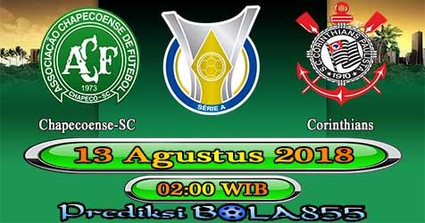 Prediksi Bola855 Chapecoense-SC vs Corinthians 13 Agustus 2018