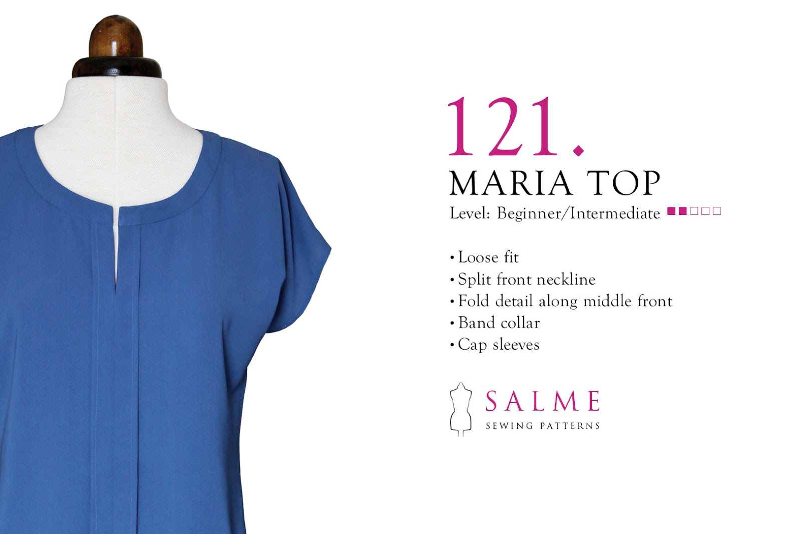 New sewing pattern: Maria top
