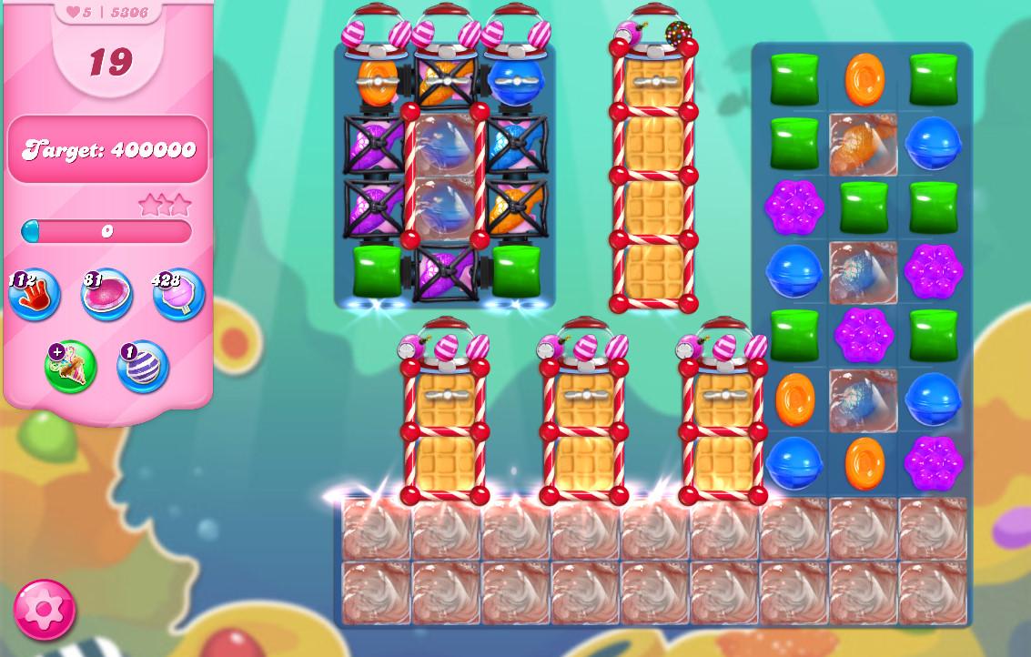 Candy Crush Saga level 5306
