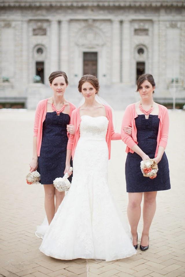 Wedding Stuff Ideas Navy Blue And Pink Weddings