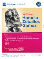 Ganadores del XXV Premio Horacio se conocerán en diciembre