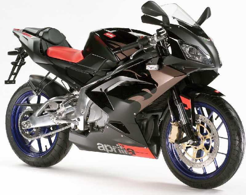 The following are just some of the main features of the Aprilia RS 125 ...