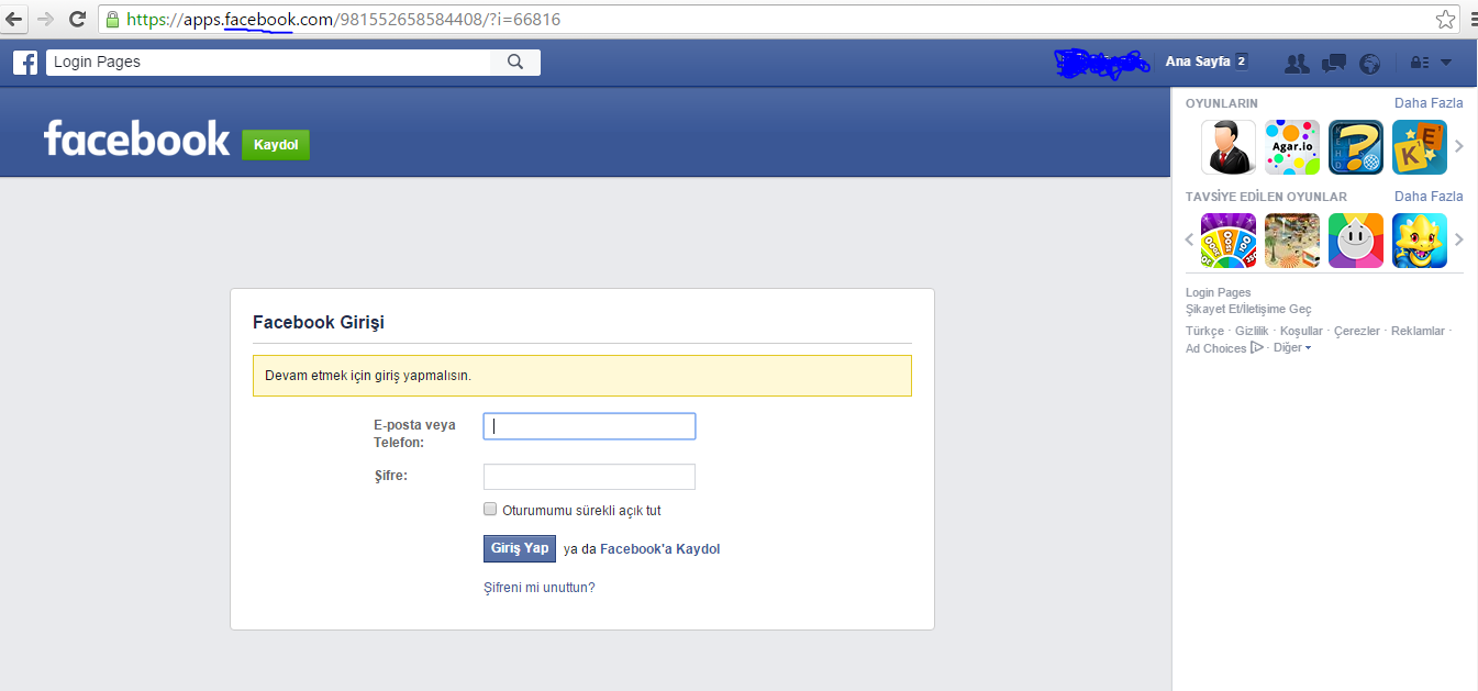 Facebook hackleme turkhackteam