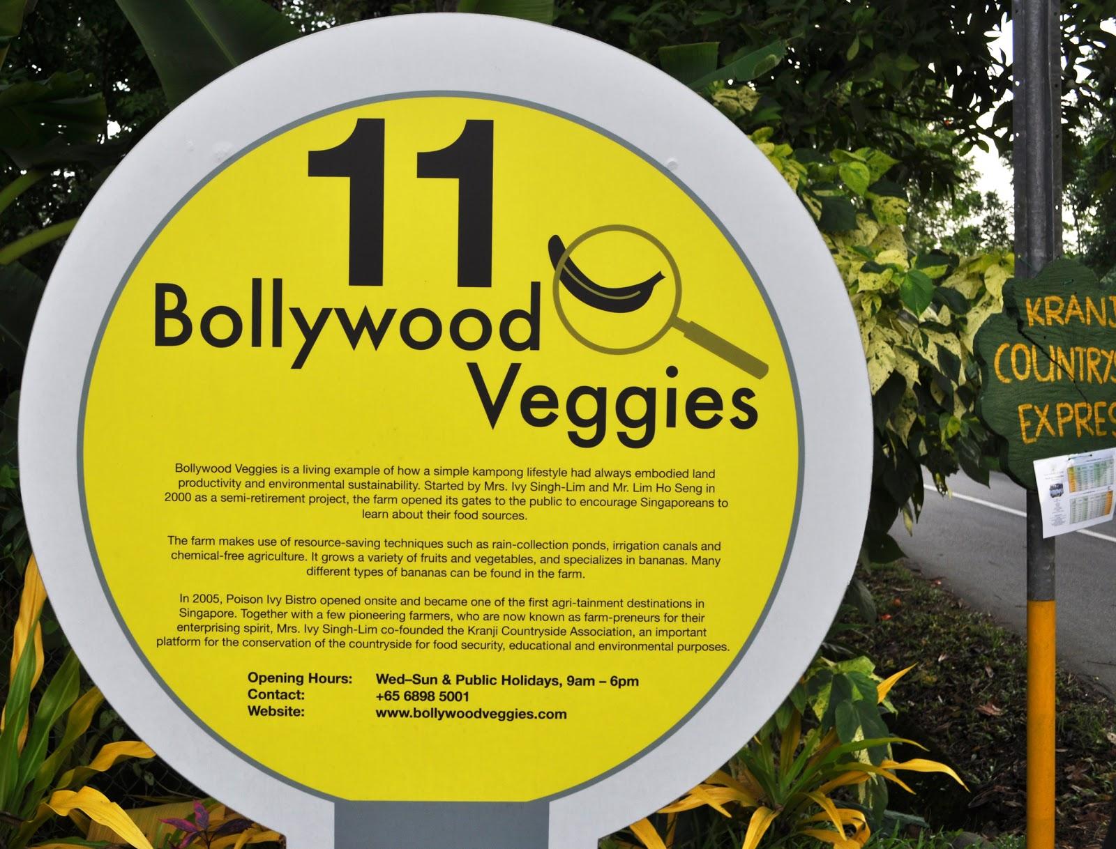 Entree Kibbles: Bollywood Veggies @ Kranji Countryside