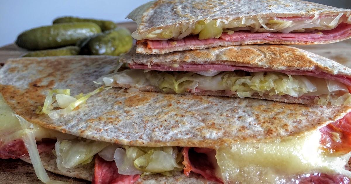 Mennonite Girls Can Cook: Reuben Quesadillas