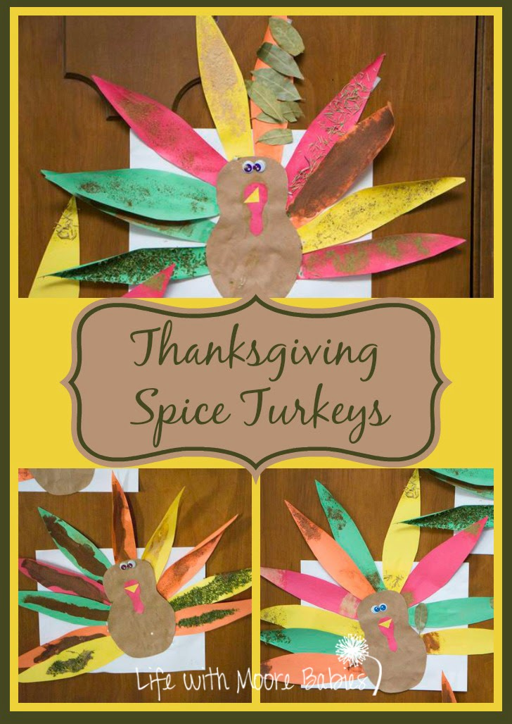 These Spice Painted Turkeys Smell like Thanksgiving