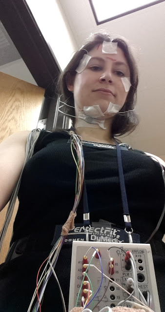 photos from my sleep study