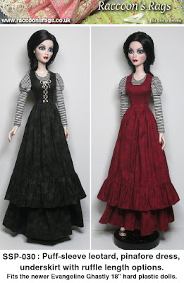 Evangeline ghastly sewing patterns