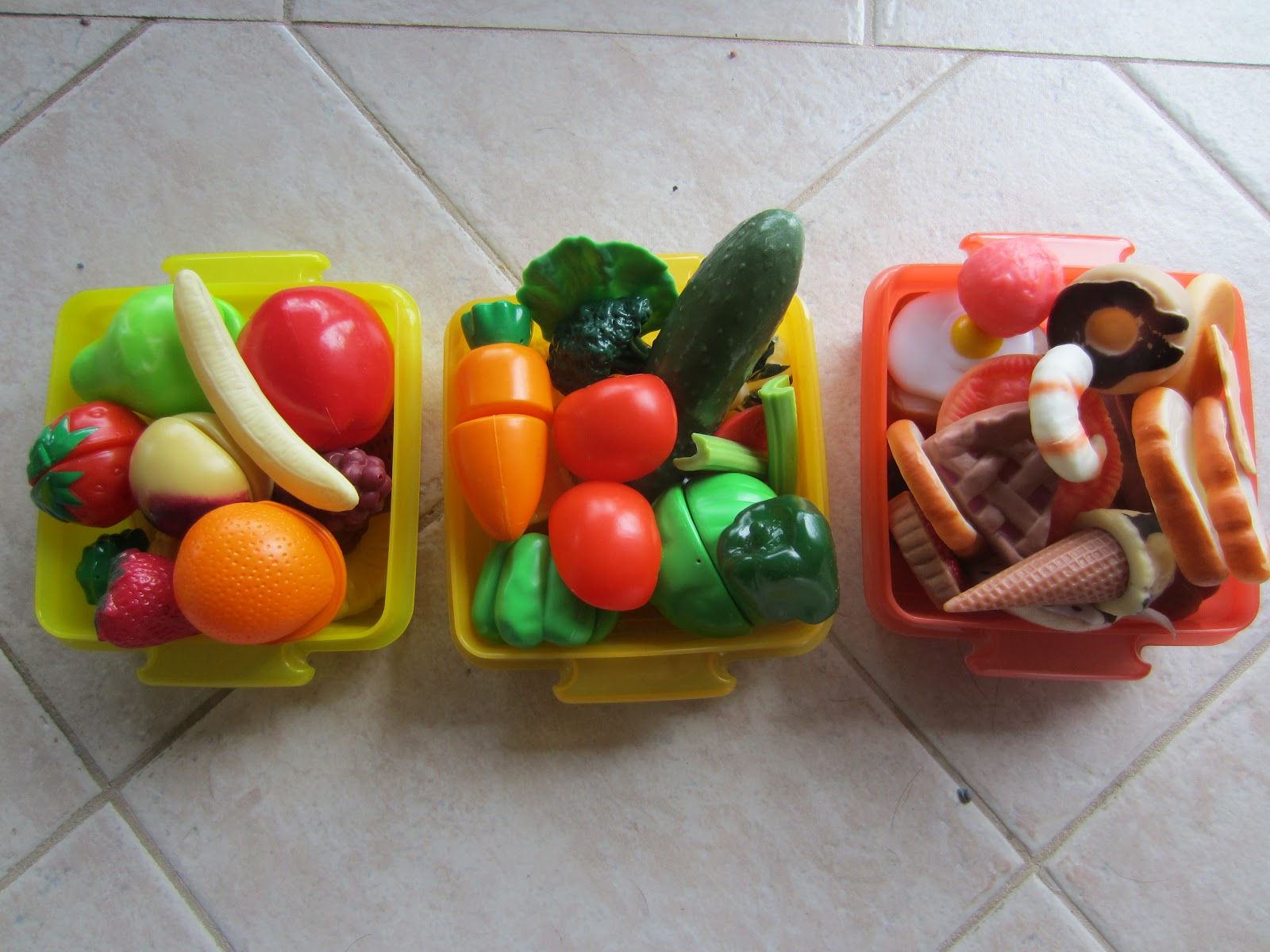 Learn With Play At Home Play Food Sort