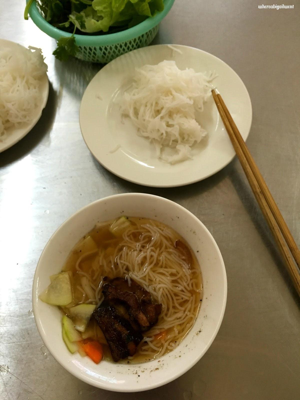 Authentic Bun Cha Restaurant in Hanoi