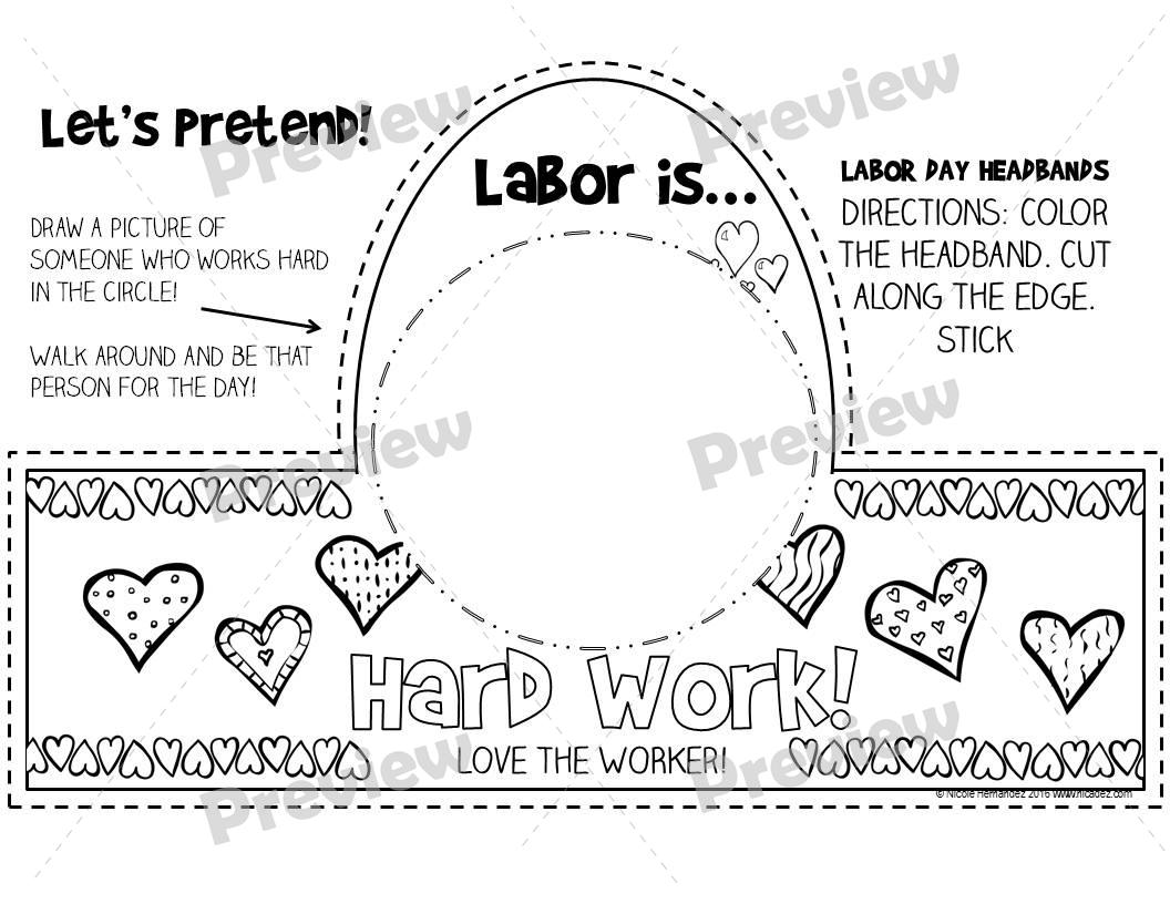 a teacher u0026 39 s idea  labor day headbands