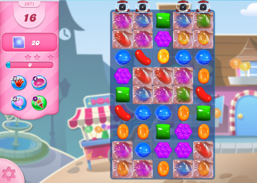 Candy Crush Saga level 2971