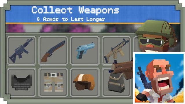 Guns Royale - 7 Rekomondasi Game Mirip PUBG Tapi OFFLINE yang Wajib Kamu Install