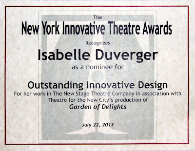 Isabelle Duverger NYIT nominee
