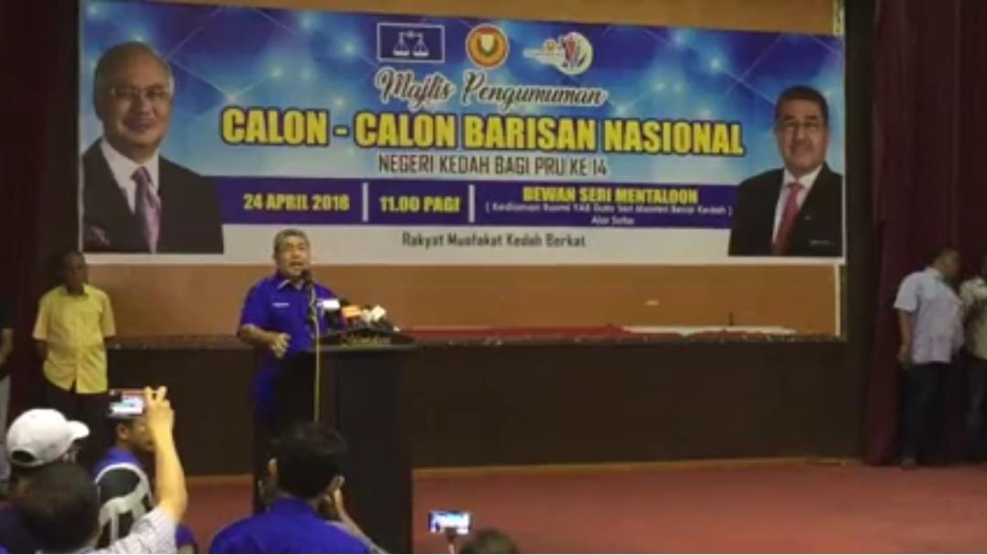 Kedahlanie Senarai Calon Bn Kedah Untuk Pru14