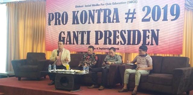 Politisi Gerindra: Pemerintah Berlebihan Sikapi #2019GantiPresiden