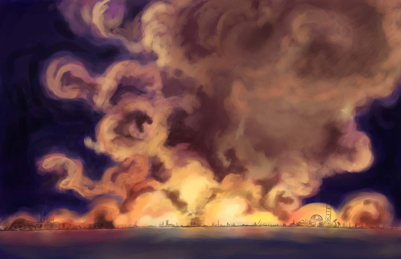 Sze Wat - Burning of a City