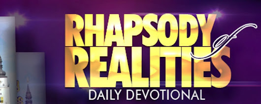 Your Rhapsody of Realities Devotional for Sunday, the 14th of October 2018
