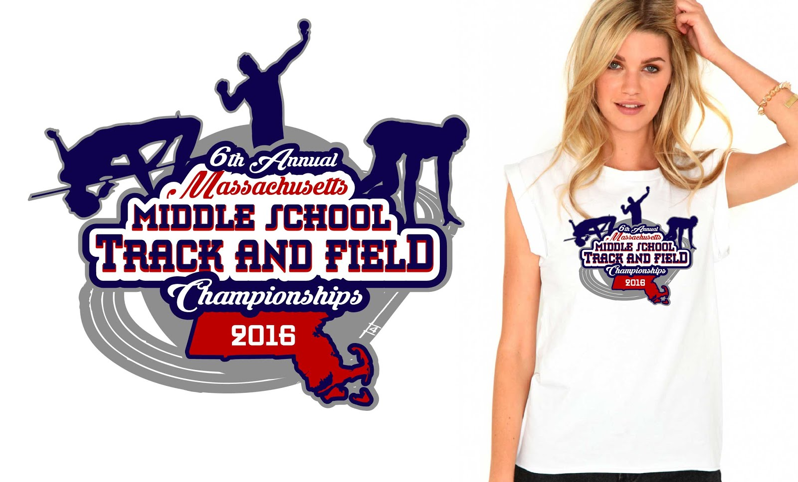 Track and field logo designs
