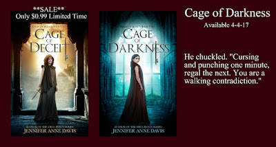 Cage of Darkness Blog Tour: Teasers + Giveaway