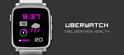 Uberwatch - dPwatchface - watchface for Pebble Time / Time 2