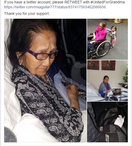 United Airlines illegally transfers disabled Pinay grandma