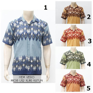 Kemeja Batik Vero