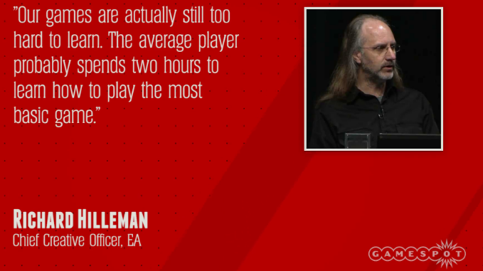 Richard Hilleman Chief Creative Officer Electronic Arts