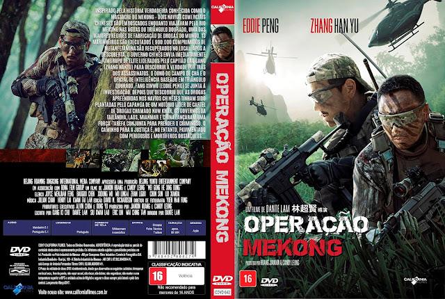 Capa DVD Operação Mekong [Exclusiva]