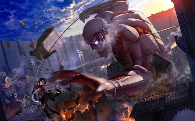 Attack on Titan adalah anime
