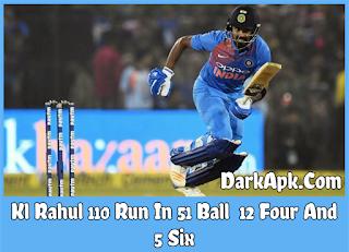 Kl Rahul 110 Run In 51 Ball World Record Fasted 100 Run T20