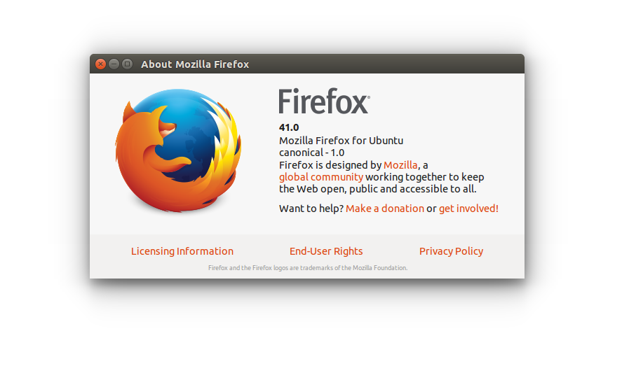 Mozilla Firefox 41 0 1 is released, Install on Ubuntu, Linux Mint
