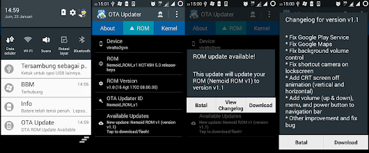 Information About [UPDATE] Nemoid ROM v1.1 - Read Now | All About Gadgets