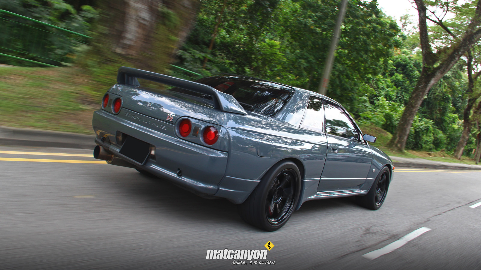 Mat Canyon Appreciating Originality Skyline R32 Gtr By