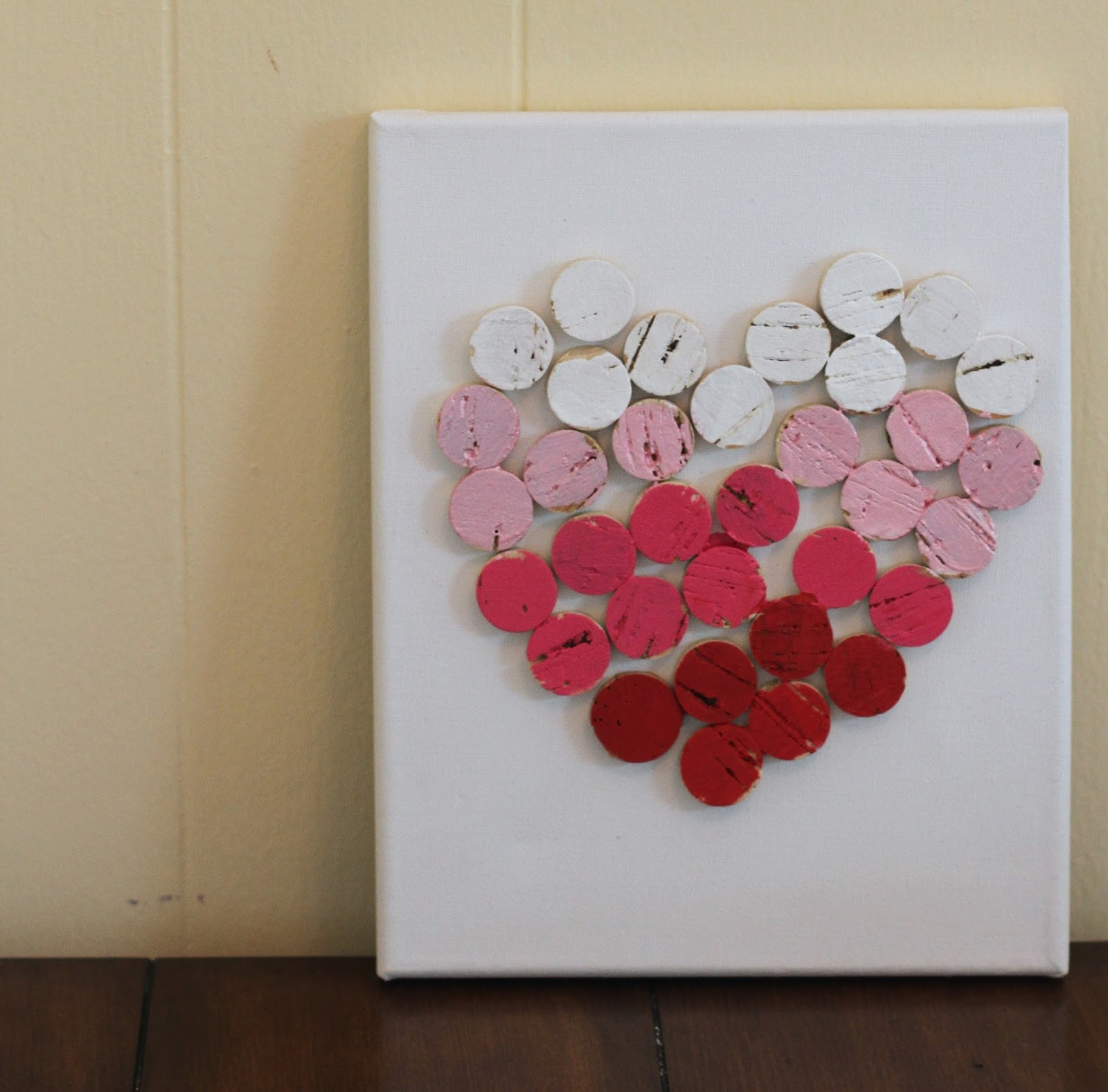 Easy Diy Valentine S Day Decor 2 Ideas For A Canvas The Chirping Moms