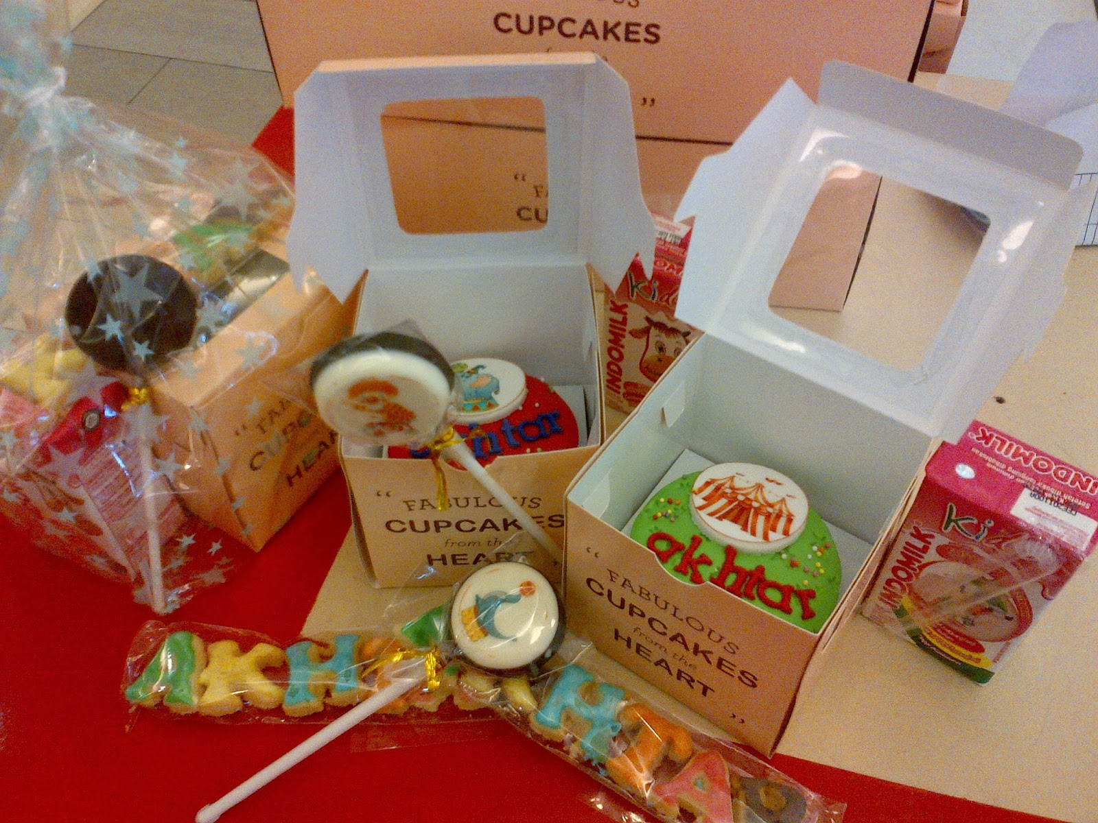 Cupcakes By Chocoholic Cupcakes Buat Goodie Bag Ulang
