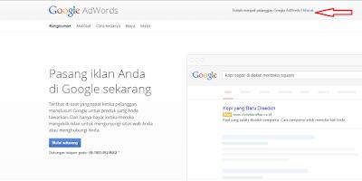 Cara Riset Keyword Di Google Keywords Planner