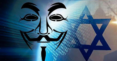 Anonymous launched a massive campaign of open-term attacks on Zionist websites