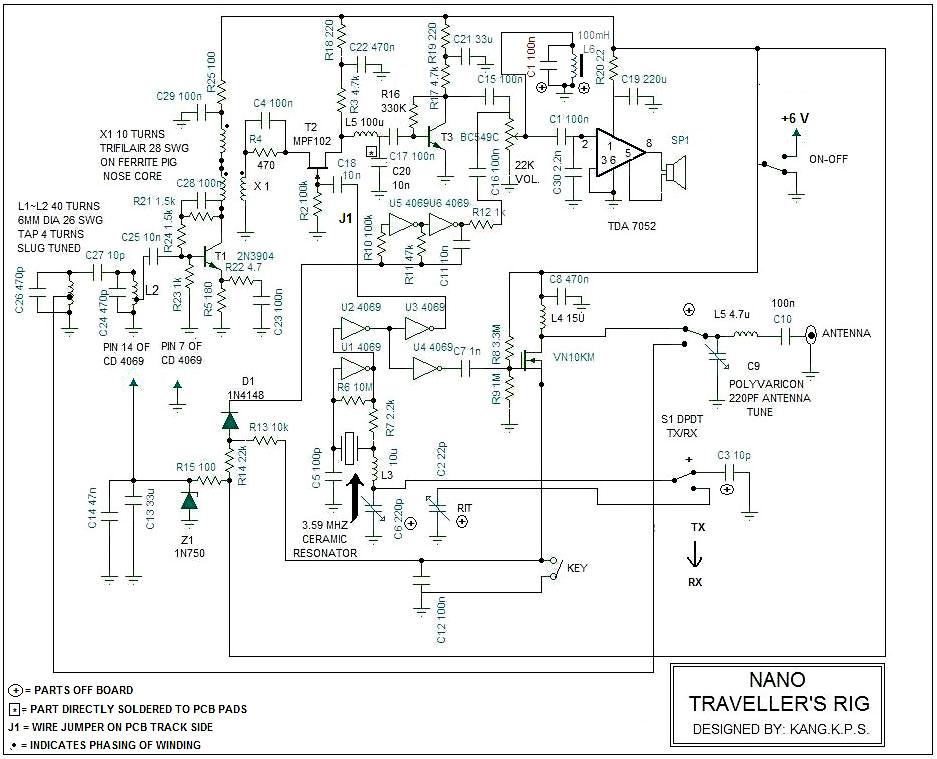 Small Wonder QRP: Nano: A Minimalist's CW Transceiver