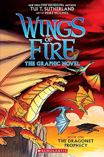 Wings of Fire Graphic Novel: The Dragonet Prophecy