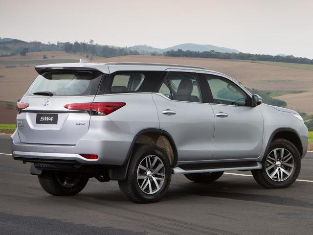 Toyota Hilux SW4 2017 - test drive