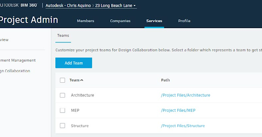 BIM 360 DESIGN : Project Administrator dan setup folder