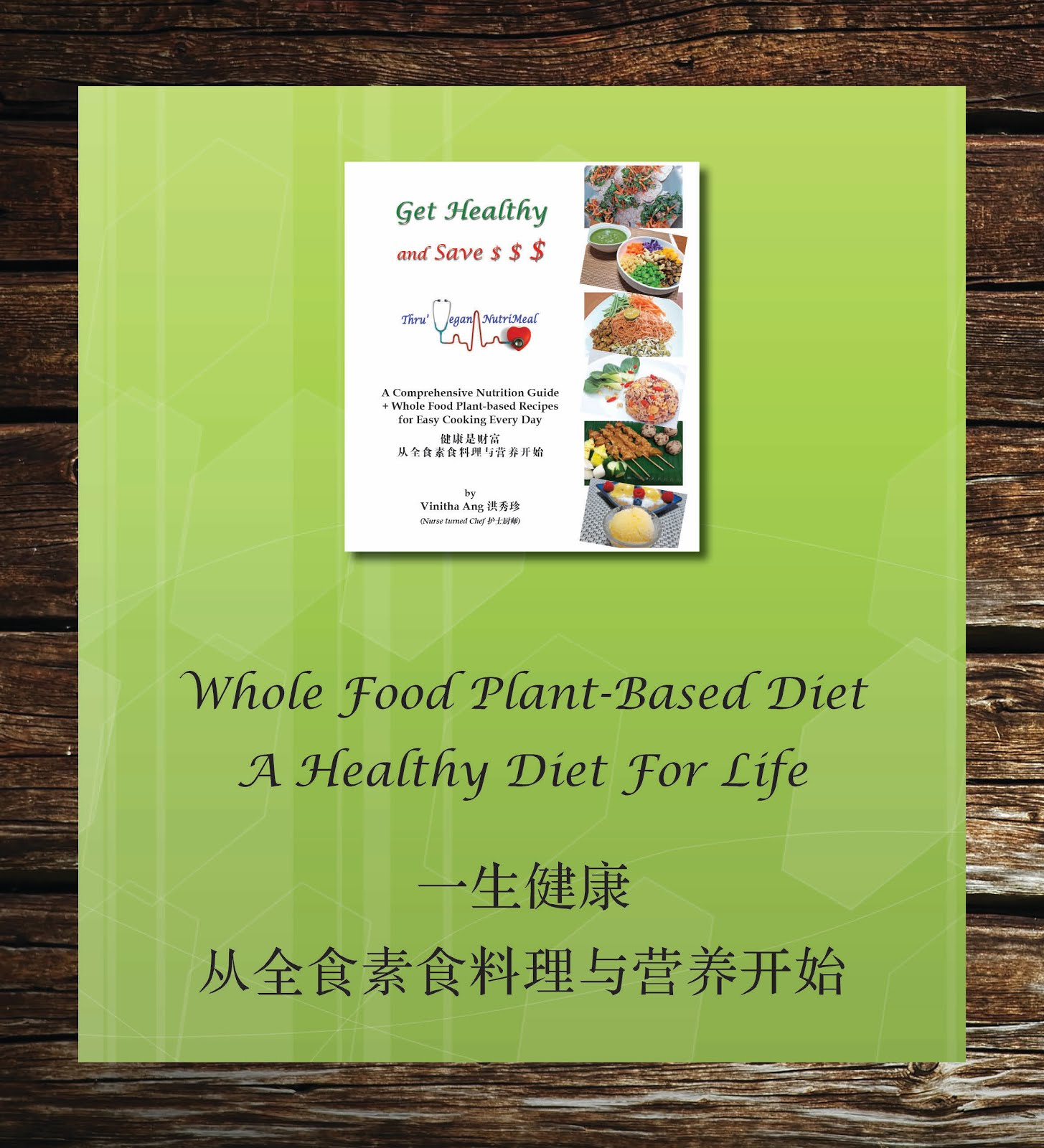 Get Healthy and Save $$$ thru Vegan NutriMeal - Title page