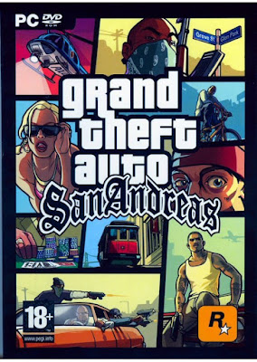 Grand Theft Auto San Andreas 2004 PC Spanish