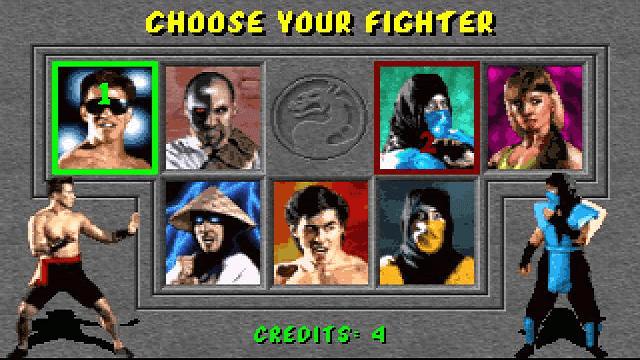 Seri pertama Mortal Kombat dibuat dengan grafis dan kombo seadanya