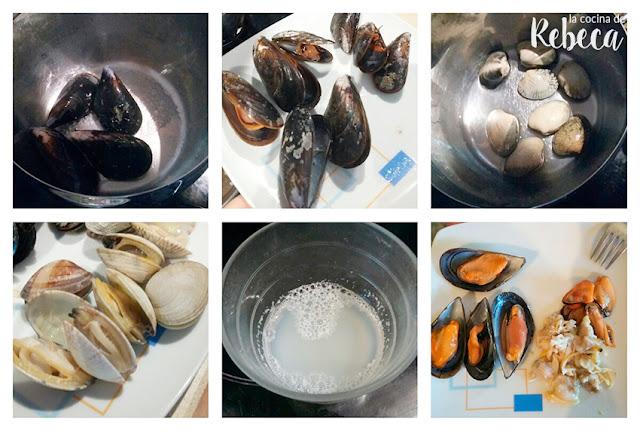 Receta de paella de marisco 02