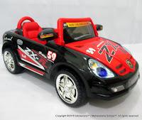 Mobil Mainan Aki MVP 7422-3 Hugo Sport