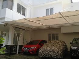 canopy membrane surabaya yang di pakai untuk garasi mobil